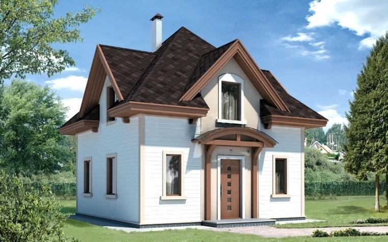 Проект каркасного дома ДР-10-01 (Диксон)