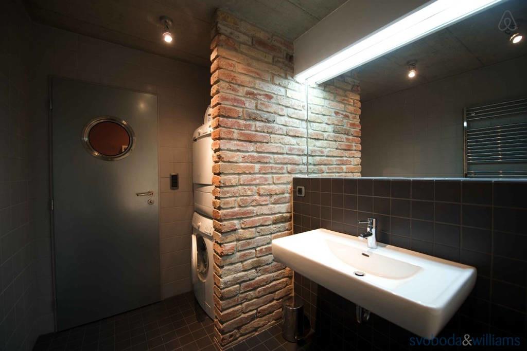 ванная в стиле лофт основные правила