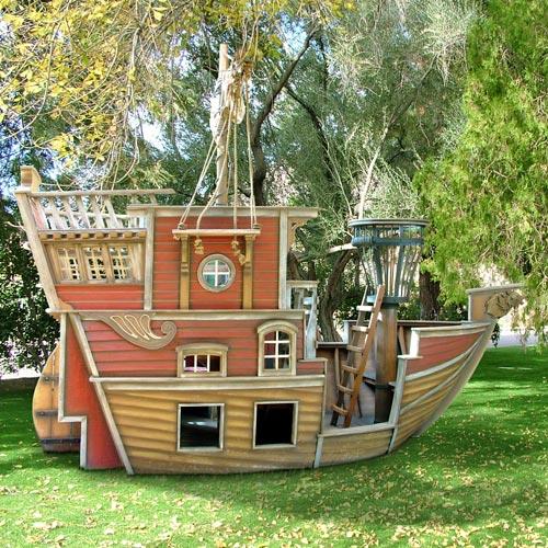 игровой кораблик