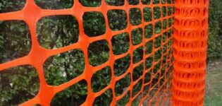 Применение полимерной сетки рабицы для забора