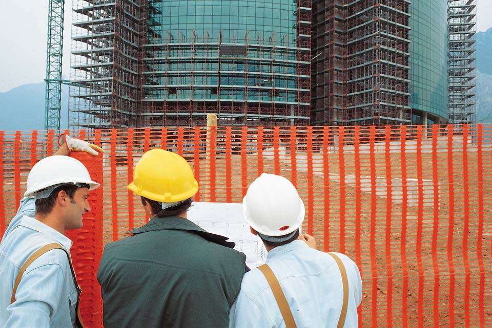 Полимерная сетка применение на строительной площадке