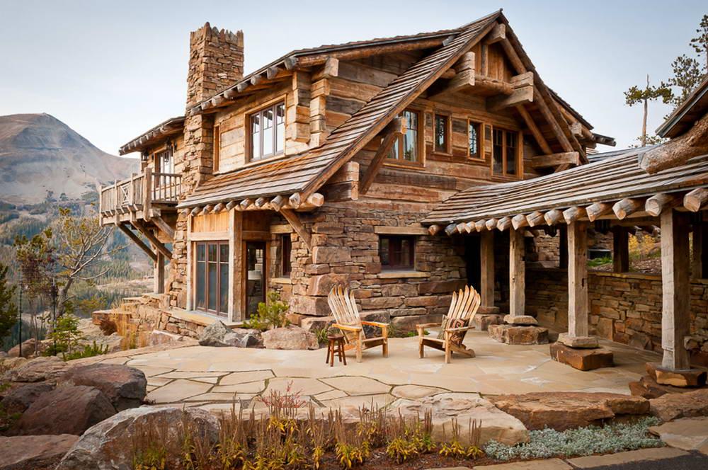 Деревянные дома в стиле шале фото