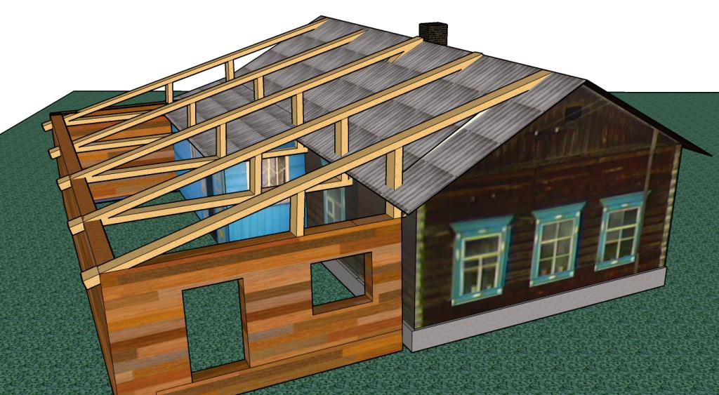 начните пристройку к дому с проекта