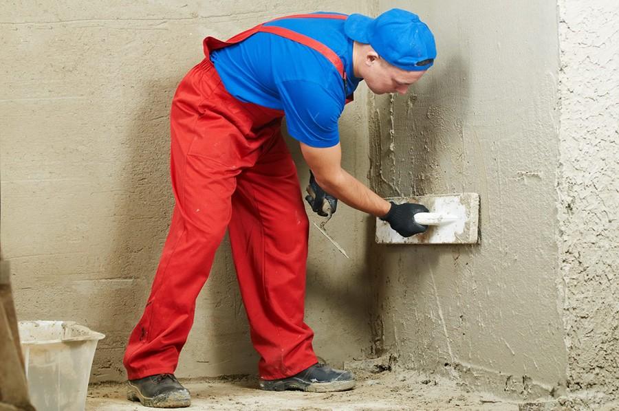 Этап 1 - Штукатурные работы и выравнивание стен