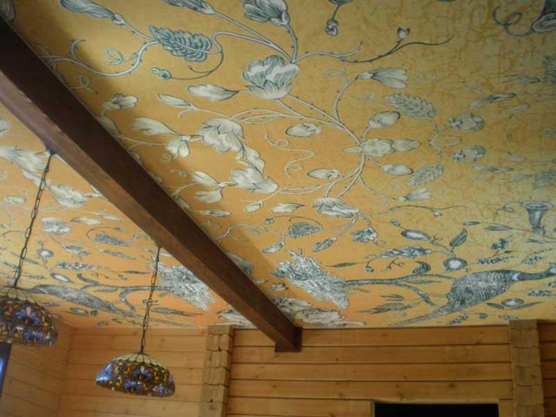 фото натяжных потолков с фотопечатью