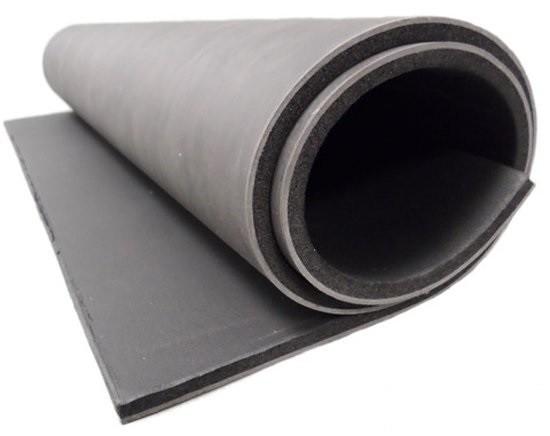 нагруженный винил (шумоблок) - качественная, плотная, но дорогостоящая мембрана