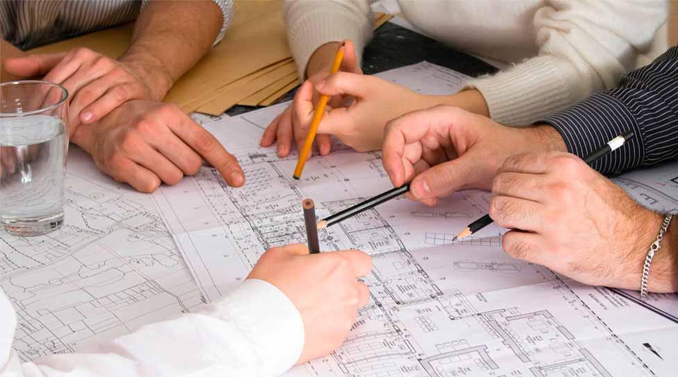 первый этап строительство каркасного дома - разработка проекта