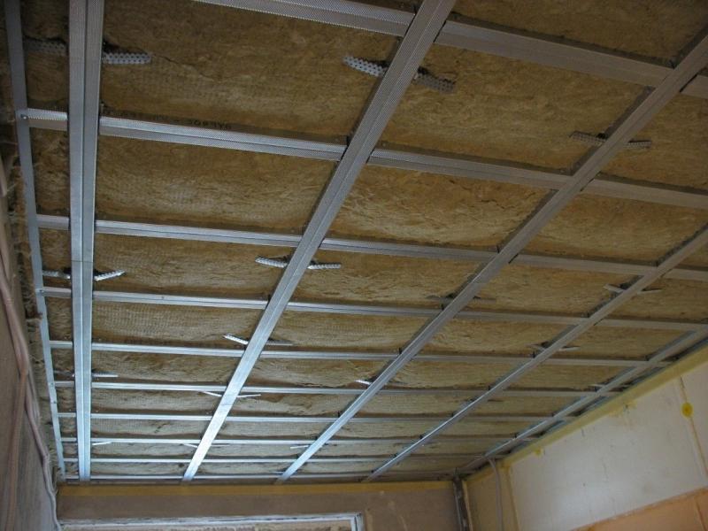 шумоизоляция подвесного потолка