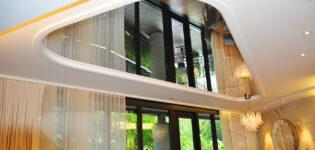 Зеркальные потолки — дизайнерские решения для интерьера