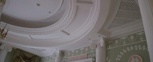 Особенности гипсового потолка