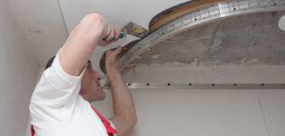 Двухуровневый потолок — современный вариант отделки
