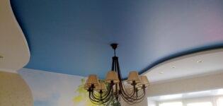 Особенности и преимущества матовых натяжных потолков