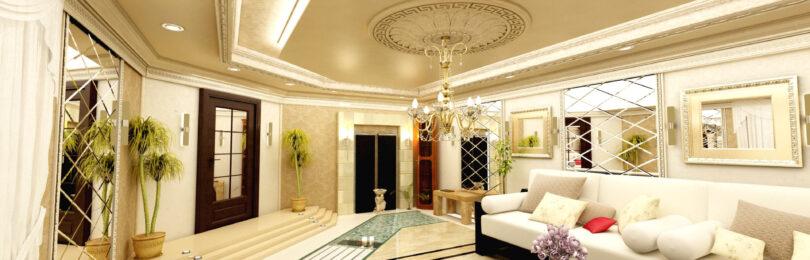 Материалы для отделки стен в гостиной
