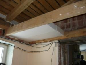 Утепление потолка пенопластом в частном доме