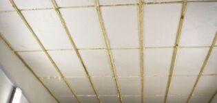 Утепление потолка пенопластом своими руками