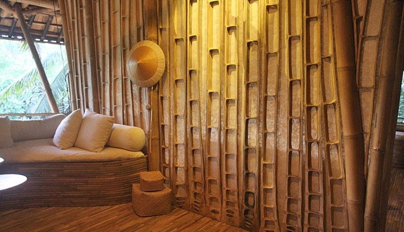 Бамбуковый интерьер