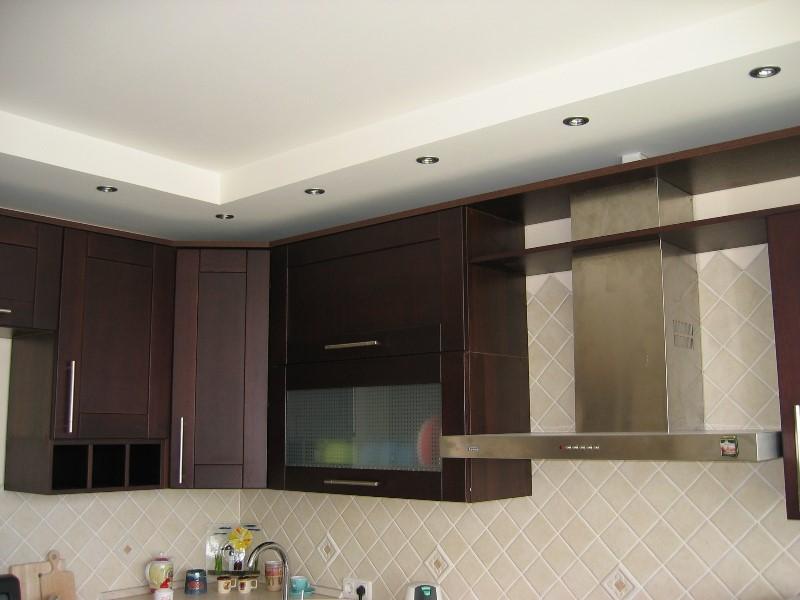 Как сделать потолок из гипсокартона на кухне