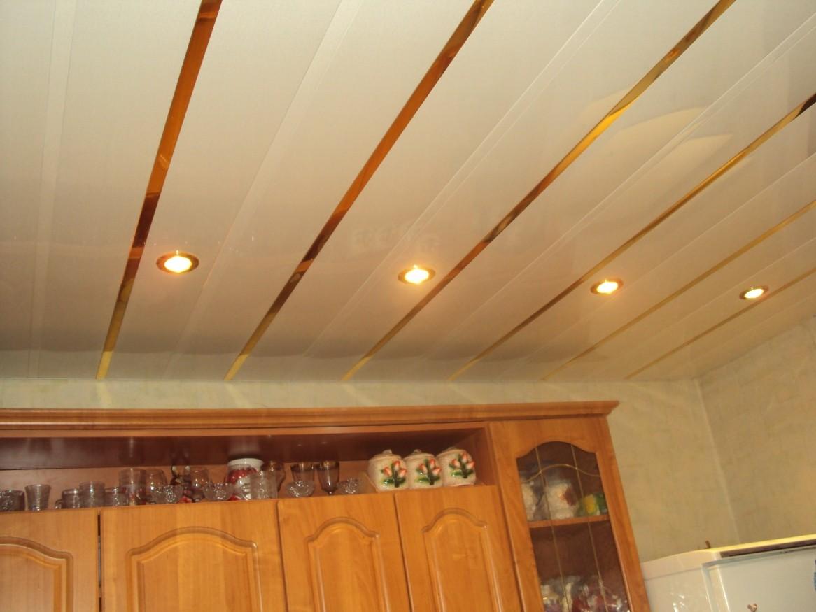 Навесные потолки из панелей своими руками