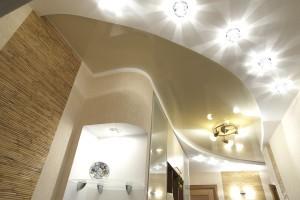 Разновидность светильников для натяжного потолка