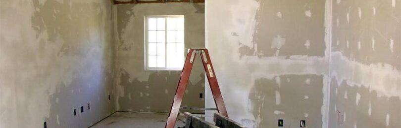 Черновая отделка стен в частном доме