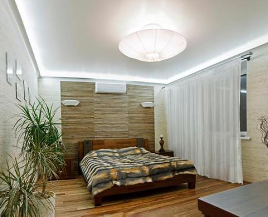 классический потолок из гипсокартона