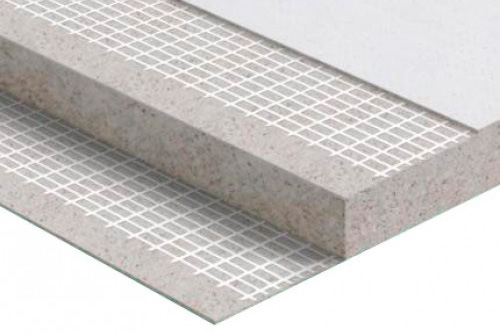 структура стекло-магнезитовой плиты
