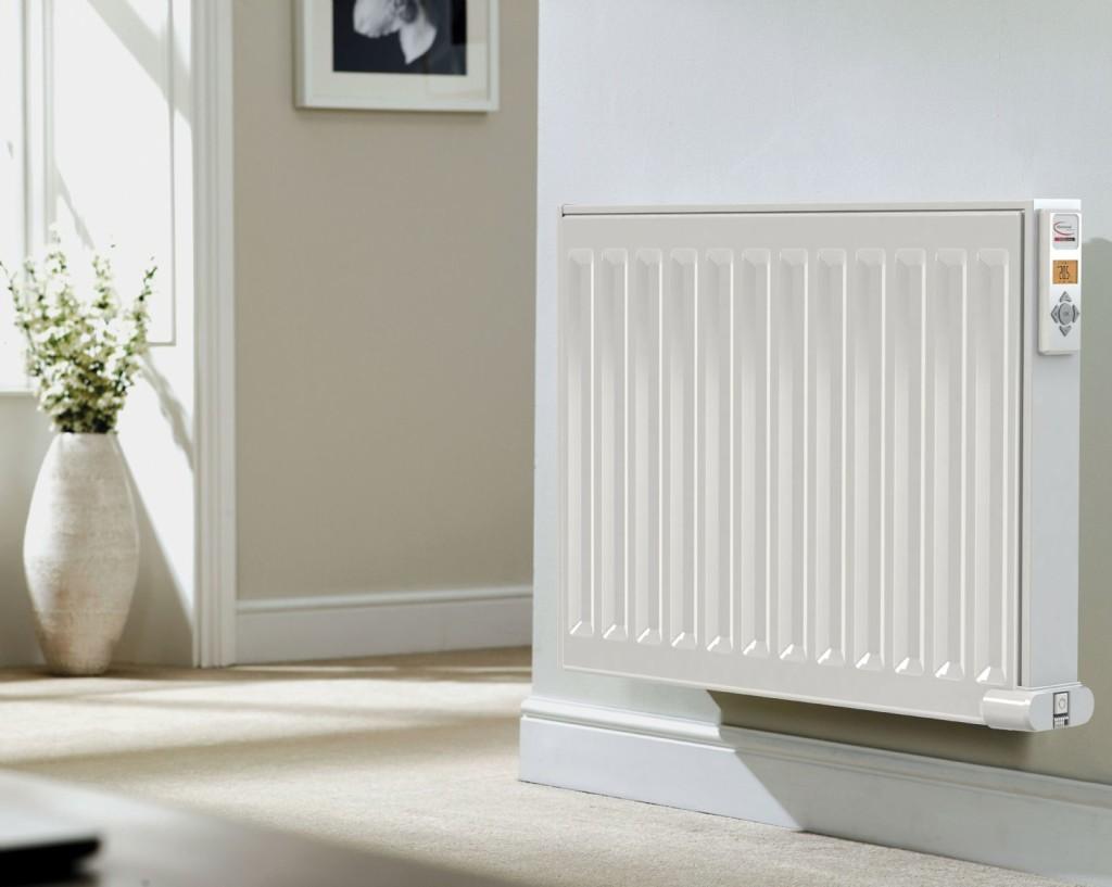внешний вид комнаты с установленным радиатором отопления