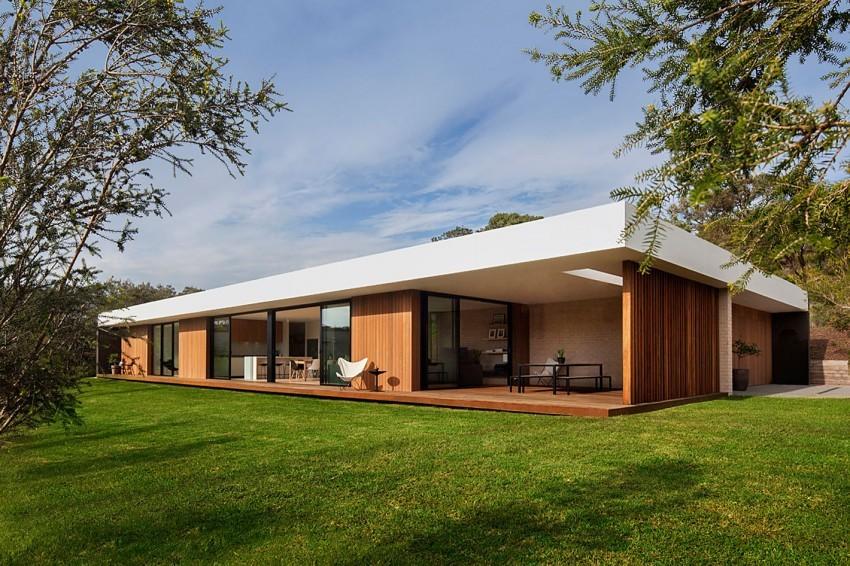 Фасад дома в стиле модерн фото 7