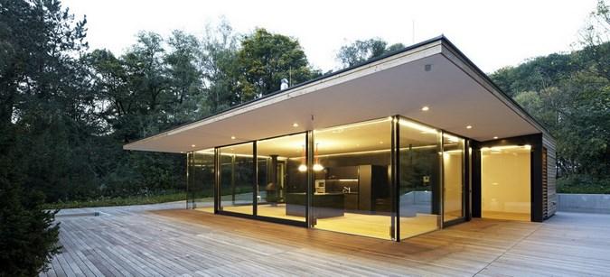 Фасад дома в стиле модерн фото 5