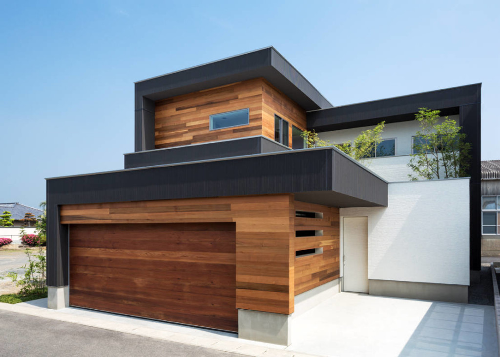 Фасад дома в стиле модерн фото 6