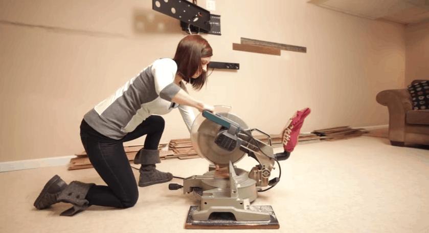 инструмент для точного торцевания доски