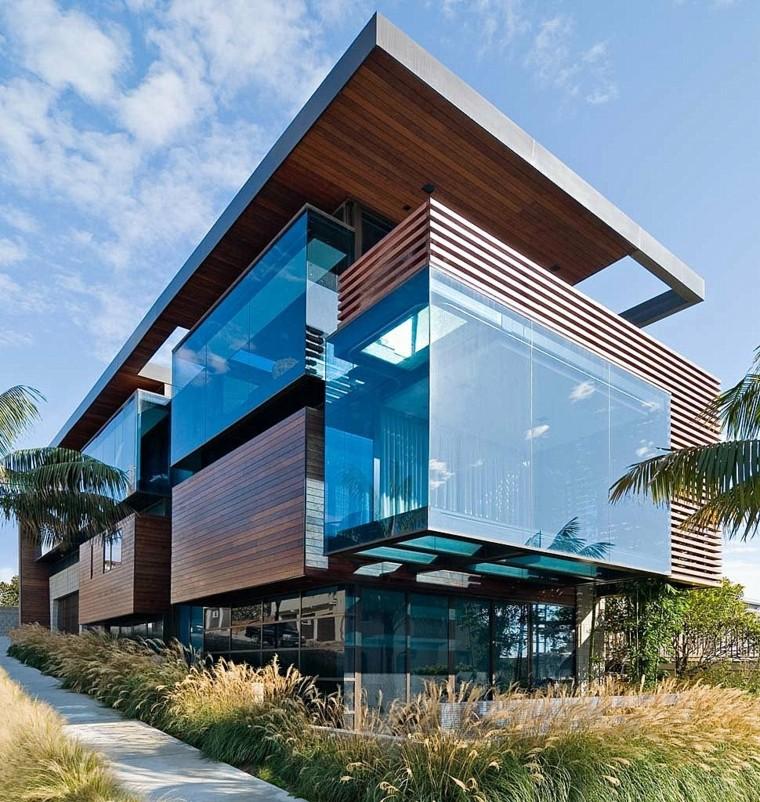 Фасад дома в стиле модерн фото 3