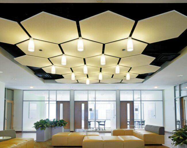 дизайнерский потолок Армстронг