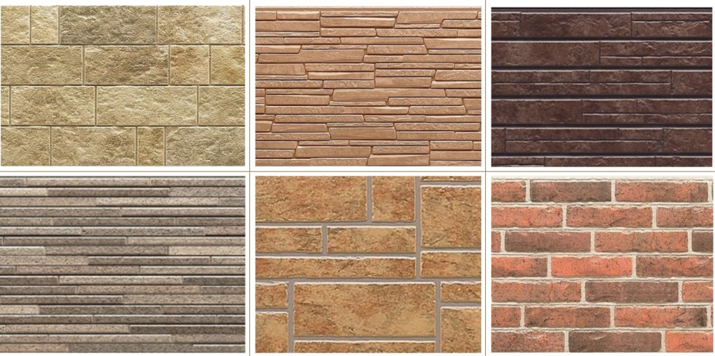 виды фасадных панелей для отделки дома