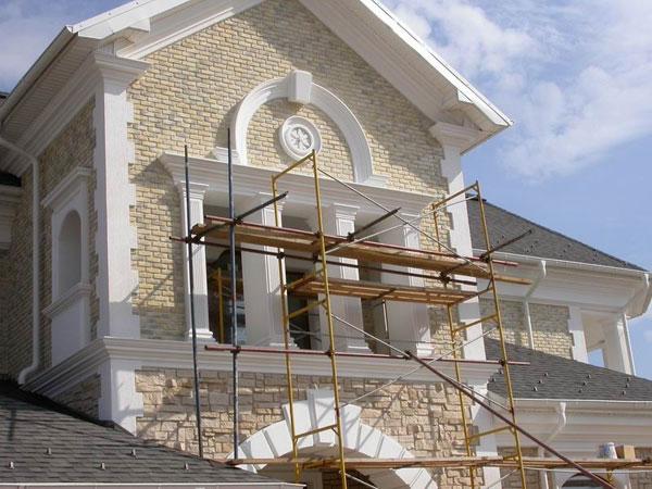 Фасад дома после реконструкции