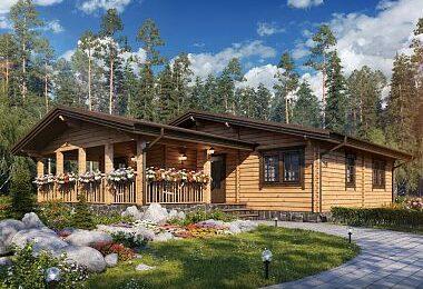 Клеёный брус – удобный и экологичный строительный материал