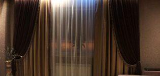 Виды штор на окна