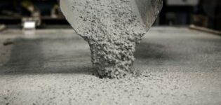 Бетон. Виды и классификация бетона