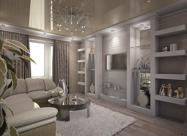 Стильная небольшая комната