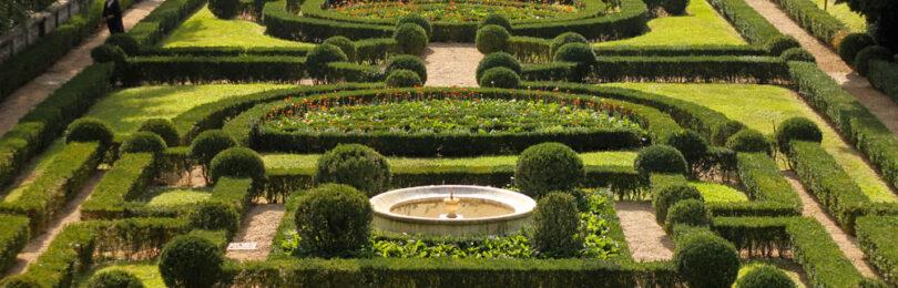 Ландшафт в итальянском стиле: многоуровневый сад