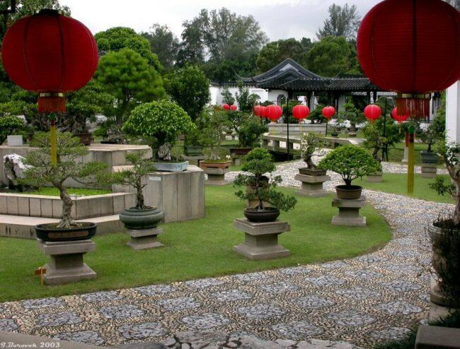 китайский стиль в саду