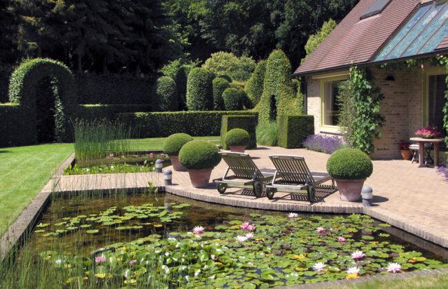 Французский стиль в ландшафтном дизайне участка