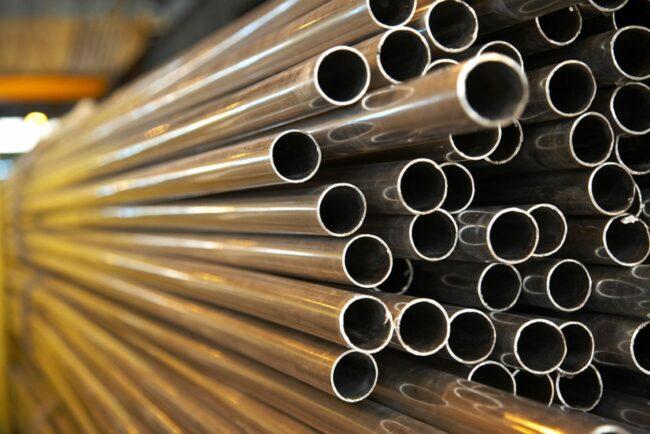 металлические стальные трубы