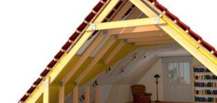 Строим теплую крышу