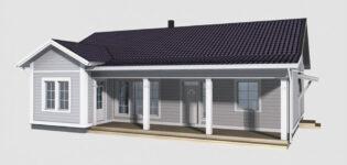 Как строят дома по каркасной технологии