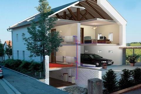 Принцип использования цокольного помещения под размещение инженерного оборудования