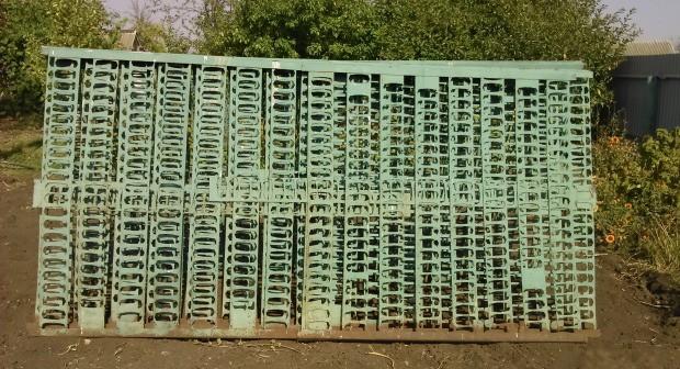 Забор из высечки: аля 90-е