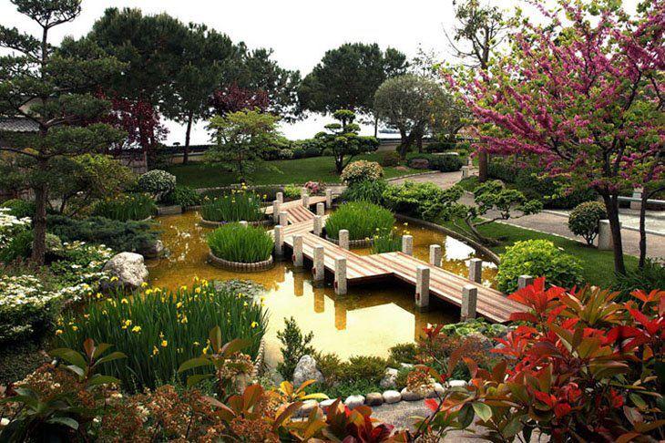 стиль дизайна Японский сад
