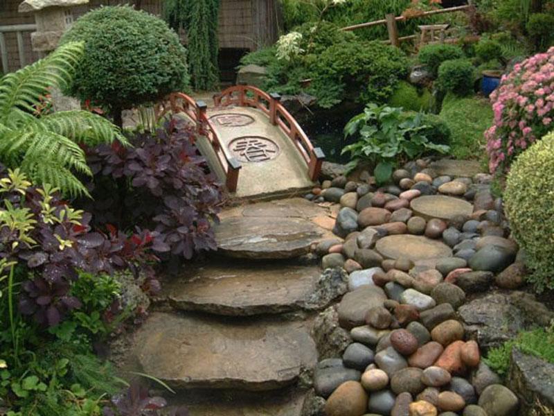Японский сад - стиль дизайна