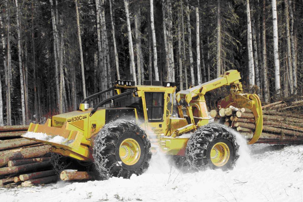 рубка леса механизированным способом